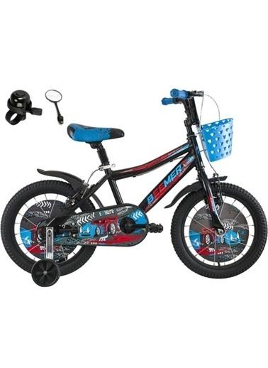 Rival Beemer 16 Jant Çocuk Bisikleti Zil Ayna Sepet Hediyeli Mavi